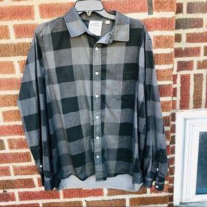 ASOS Cheap Monday Plaid Flannel  Collared Shirt
